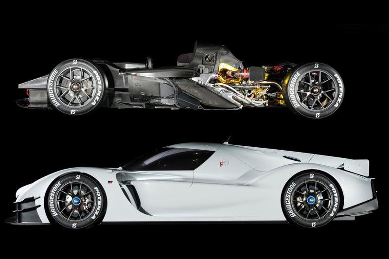 V6雙渦輪增壓直噴汽油引擎外掛Toyota Hybrid System-Racing油電複合動力系統加上賽車式單體車身,基本上你就當GR Super Sport Concept是輛道路版賽車即可。