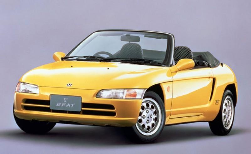 平成ABC之一的B -- Honda Beat,直到這兩年才見著後繼車S660。
