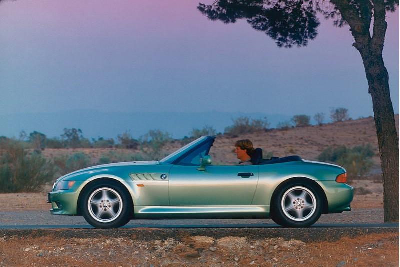 於1996年問世的BMW Z3,也是開創下一個豪華小跑車新時代的先發者。