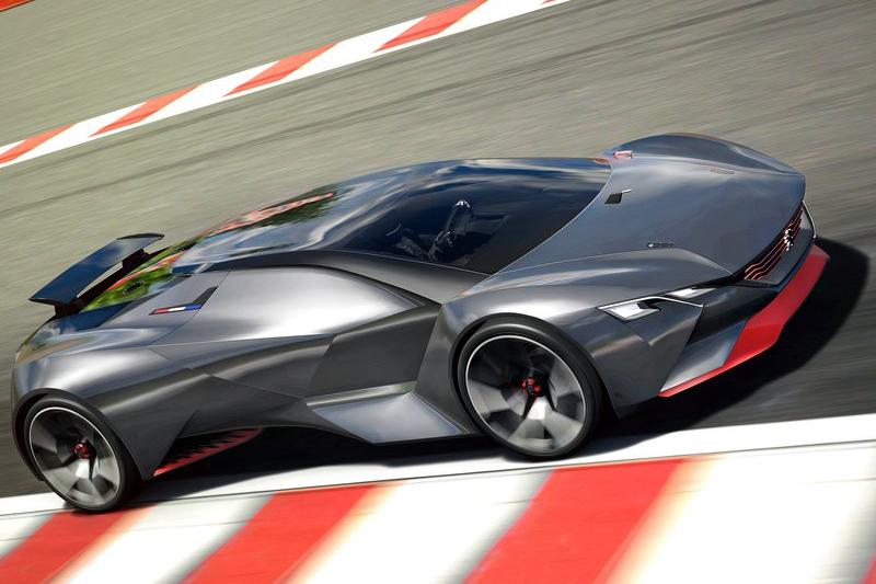 其實法國還是有在設計跑車,像是圖中2015年的Peugeot Vision Gran Turismo Concept就是一例。