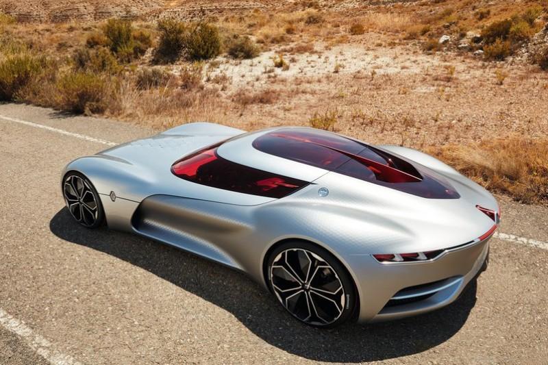 2016年發表的Renault Trezor Concept也是近期法系概念跑車典範,只是...這些車幾乎全都不可能實際量產。