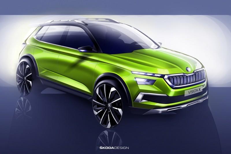 除了完全不同的車頭細節,採用黑色塗裝A柱與全景玻璃車頂搭配鏤空車頂架以及誇張的20吋鋁圈也都是Vision X不容錯過的焦點。