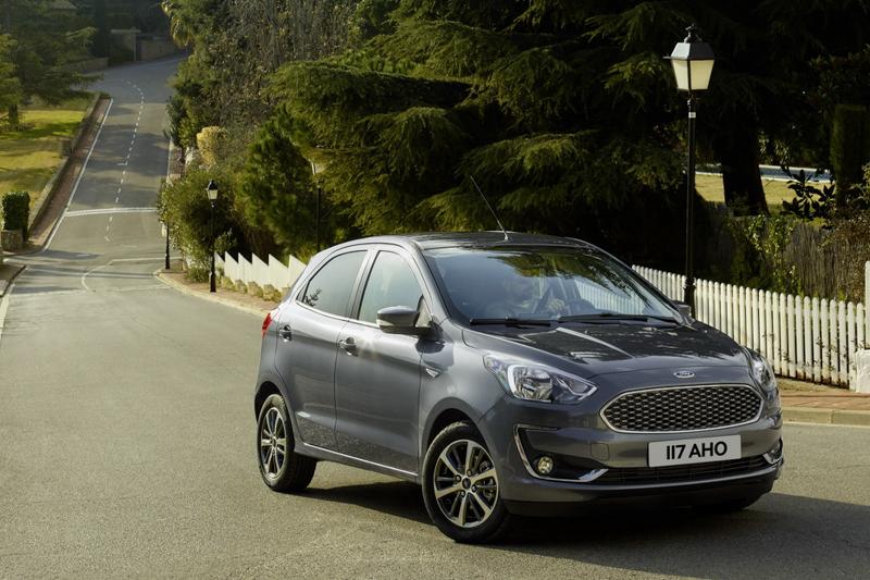 第三代Ka於歐洲市場稱為Ka+,於日前推出小改款車型。