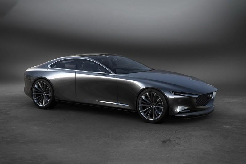 雖然車名是MAZDA VISION COUPE,但卻採用4門的Four-Door Coupe設計