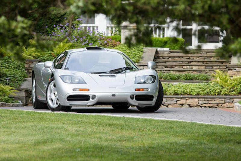 這輛號稱「北美第一輛」的McLaren F1在著名的Pebble Beach圓石灘車展中的拍賣會上,以總價1562萬美金〈含手續費等費用〉拍出。