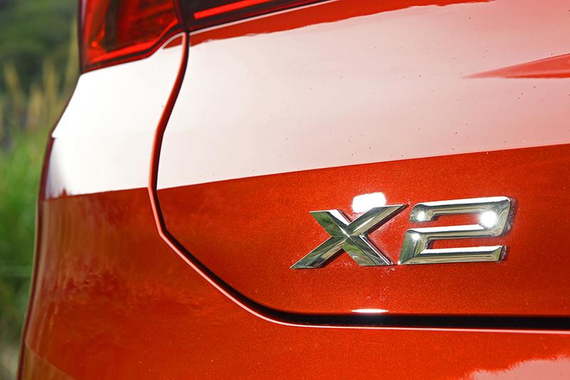 擁有與概念車相近的設計,X2有點讓我喜出望外。