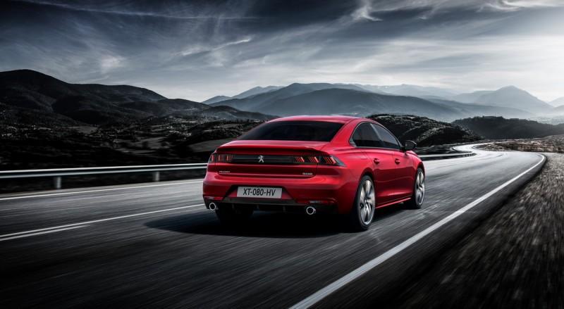 全新Peugeot 508全數搭載8速自排變速箱,性能與節能兼具