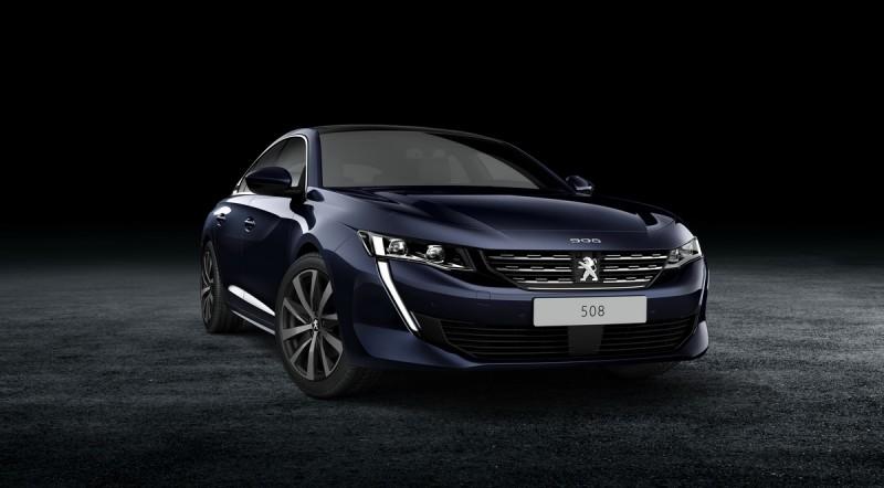 法國國旗色三車型同步曝光!藍色為常規全新Peugeot 508