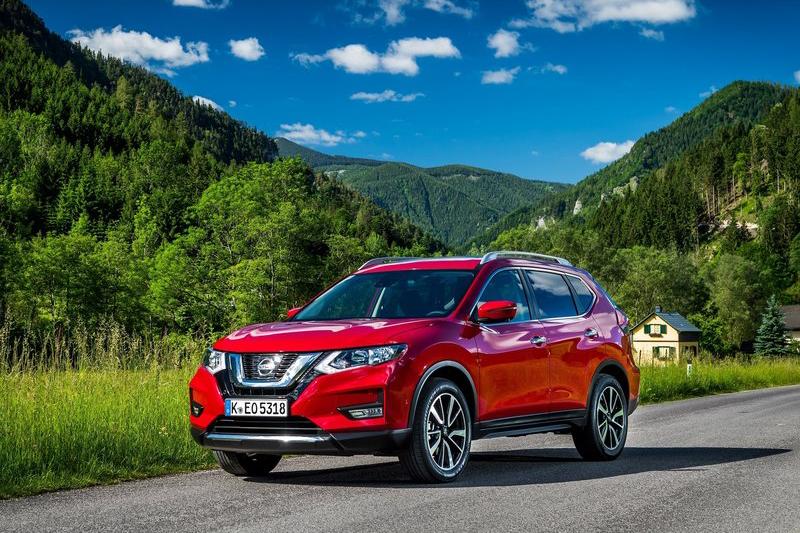 Nissan X-Trail大約會在第二季迎來小改款車型(圖為歐規版本)。