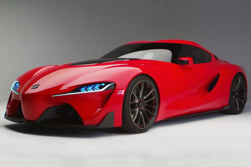 拉掉誇張且過激的空力套件,其實GR Supra Concept根本就是FT-1 Concept的廠車版本。