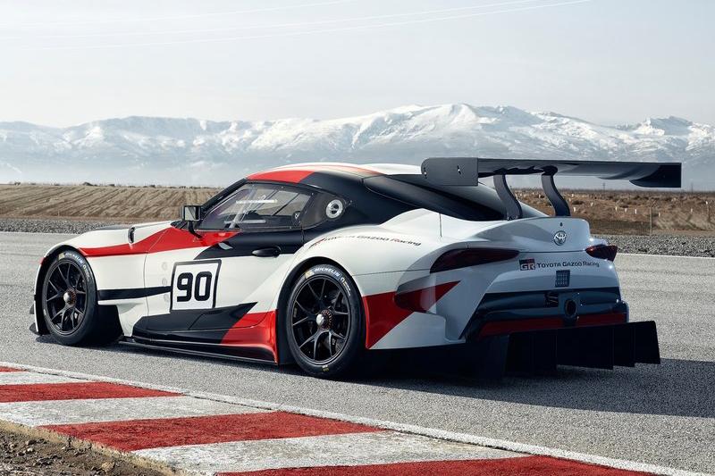 儘管已等待11年,Toyota依舊以GR Supra Concept作為量產版本Supra的預覽作。