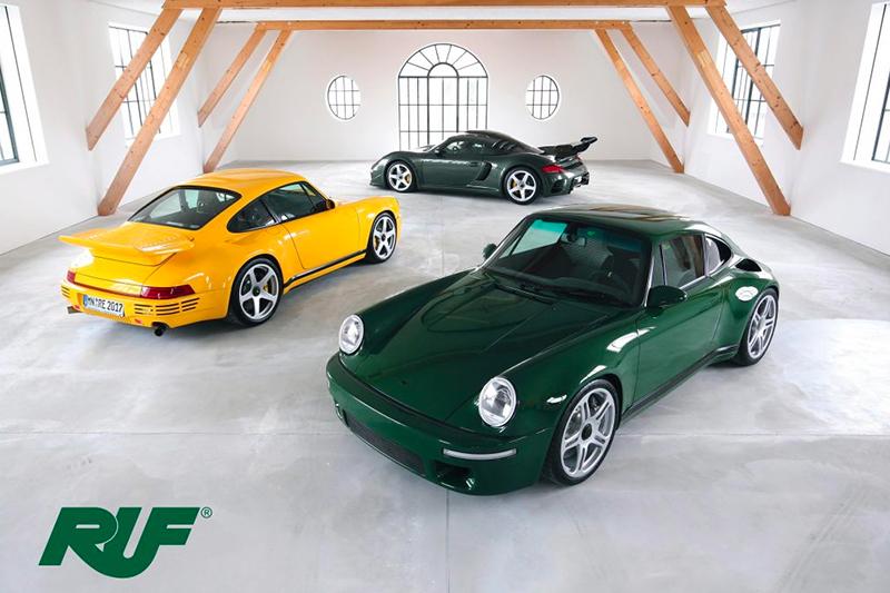 還記得Ruf嗎?他們可不是Porsche的改裝廠,而是專門製造長得很像911的超跑製造商。