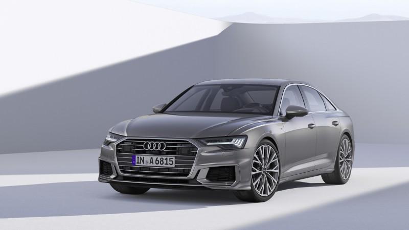 2018日內瓦車展正式登場,四環品牌向全球車迷揭露第八代全新Audi A6 Sedan迷人實貌,預計今年六月於德國正式販售,為C級距豪華房車點燃新戰火。