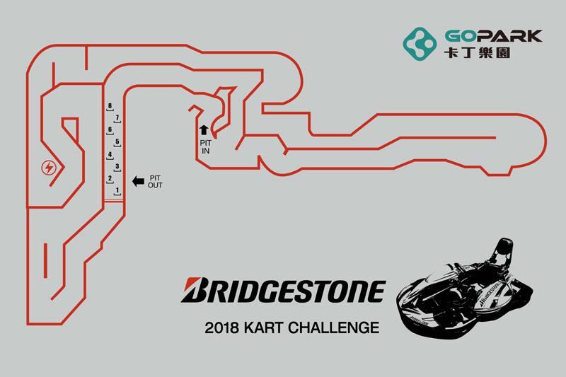冠軍挑戰賽將使用的終極跑道。