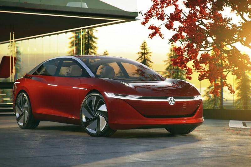 Volkswagen於日內瓦車展發表首款搭載Level 5全自動駕駛概念車款:I.D. VIZZION。