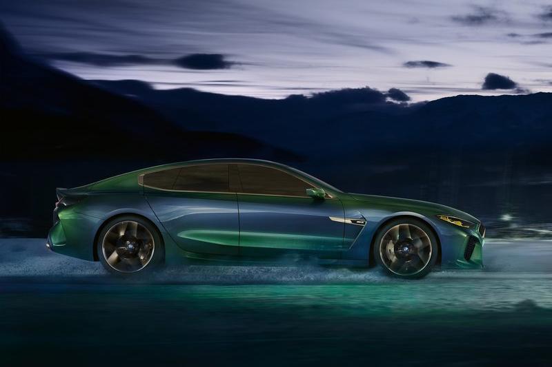 四門Coupe的設計,量產後將能在6 Series Gran Coupe之上創造出更奢華的級距。