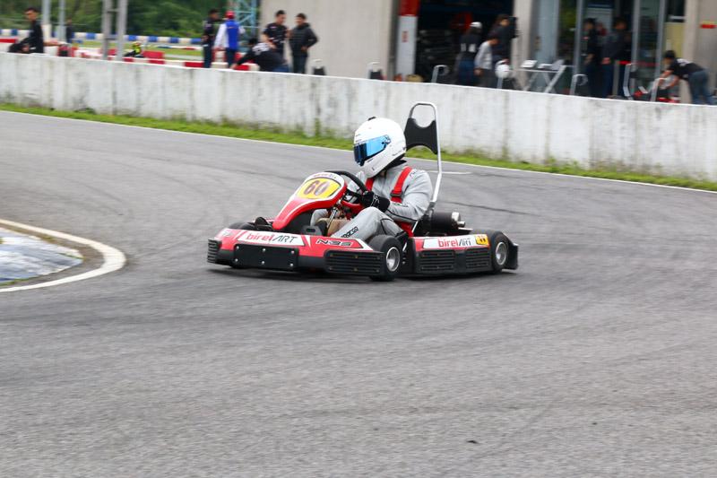 偉恩在預賽中順利獲得第一。