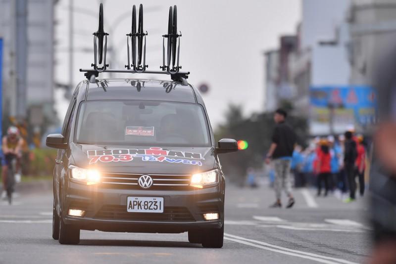 福斯商旅Caddy Maxi將在賽事自行車賽道上提供自行車維修支援服務。
