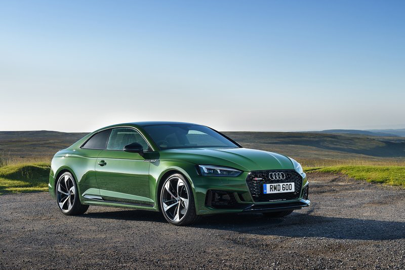 從新世代RS5開始,綠色彷彿重回檯面汽車市場檯面上!