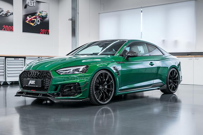 由ABT所改造的RS5 R,披上了更加搶眼的綠色烤漆。