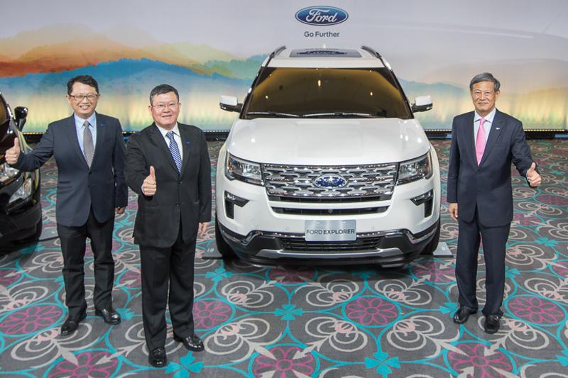 【圖一】Ford將於2018年擴大全方位休旅產品陣線,圖為主角七人座休旅Explorer車型。
