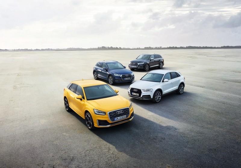夏天腳步逐漸靠近,與三五好友或家人一同出遊時刻即將到來,台灣奧迪特別推出Audi Q Family 首選方案,針對旗下Q系列車款Audi Q2、Q3、Q5以及Q7 推出多重購車優惠,敬邀把握絕佳入主時機趁勢擁有!