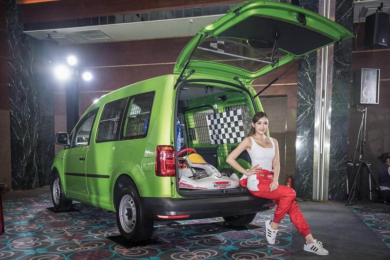 卡丁車加上人身部品以及工具零組件,車隊規模已然成型