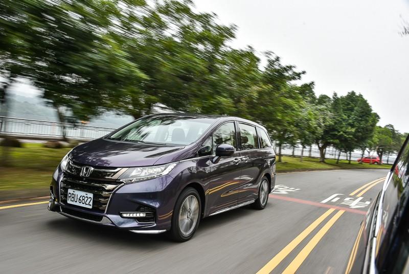 同樣搭載Honda Sensing輔助科技,Odyssey更有七人座無可取代優勢
