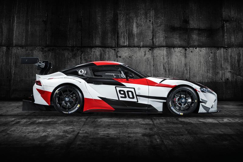 2018日內瓦車展亮相的GR Supra Racing Concept可視為新款Supra的雛形。