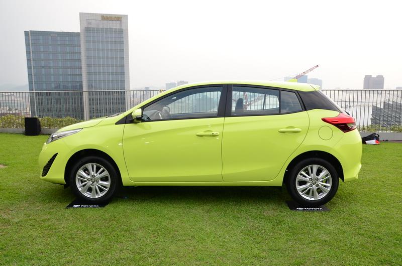 這次特別推出的星湛藍及樂活綠新車色,讓上市活動充滿十足年輕氣息