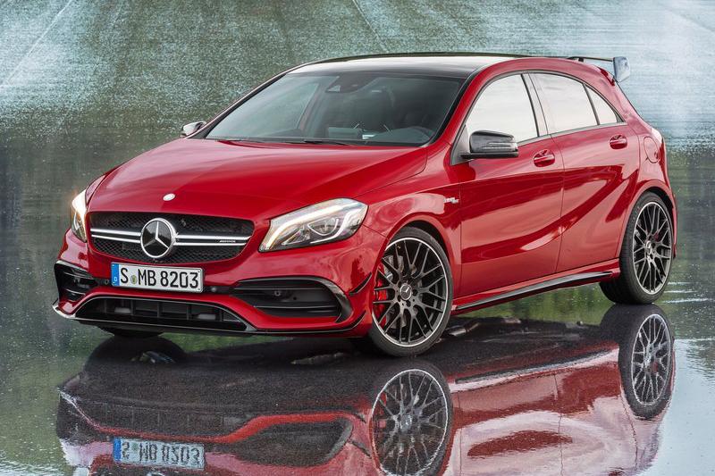 目前的Mercedes-AMG已擁有381hp/48.4kg-m,堪稱天下無敵鋼砲王。