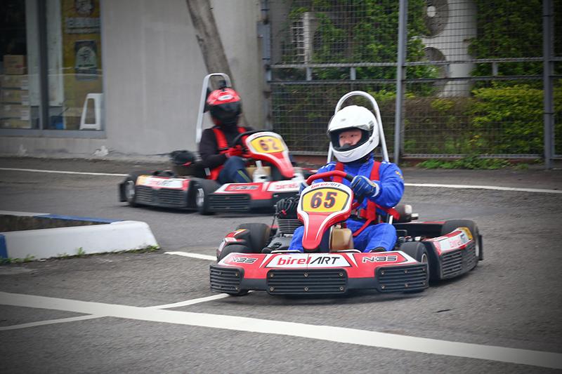 好久沒參加卡丁賽了,這次接連參加Super N35爭先賽以及N35耐久賽真是要了老命。