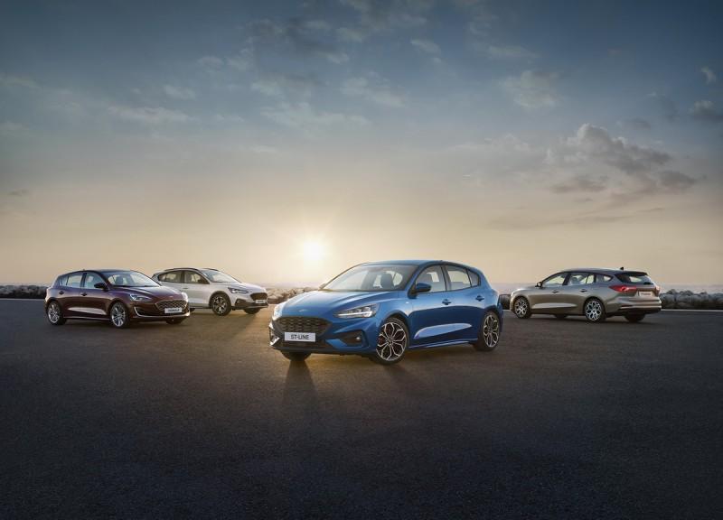 全新Focus同步推出4門房車,5門旅行車和5門掀背車身