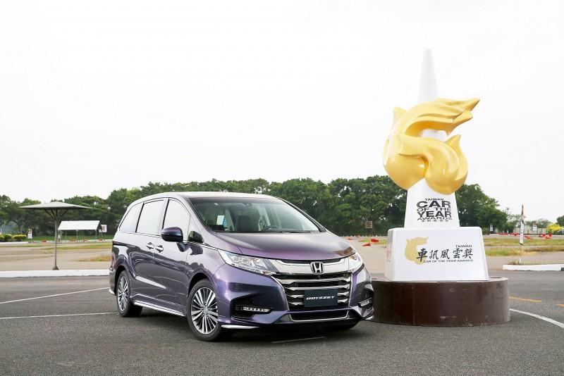 Honda ODYSSEY 亦3度奪冠【最佳進口大型MPV】