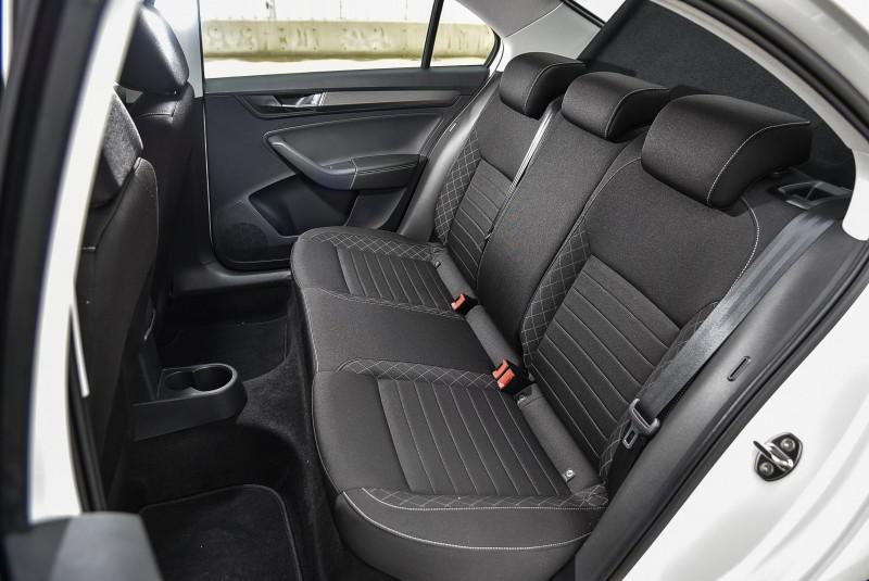 舒適的後座空間也是Rapid優勢
