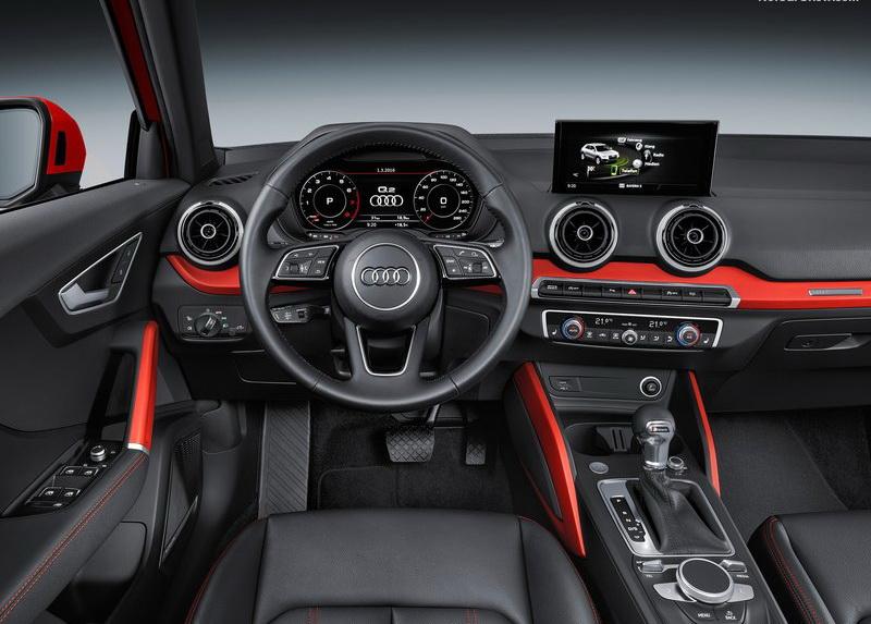 Audi Q2同樣承襲了品牌科技味濃烈的傳統