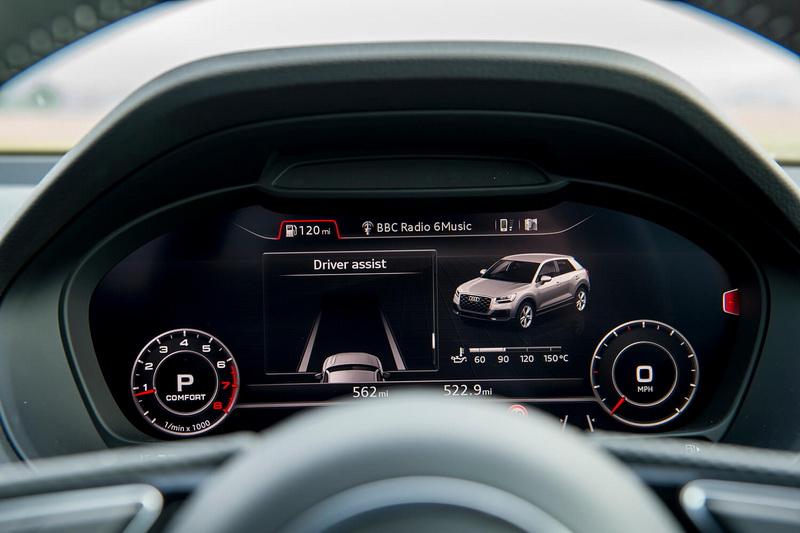 導入可顯出多重行車訊息的12.3吋數位虛擬儀表後,畫面的呈現上變得更加豐富