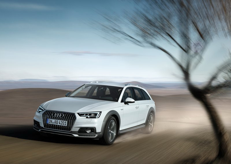 車重較輕的Audi A4 Allroad在0-100 km/h加速僅6.1秒的成績領先群雄