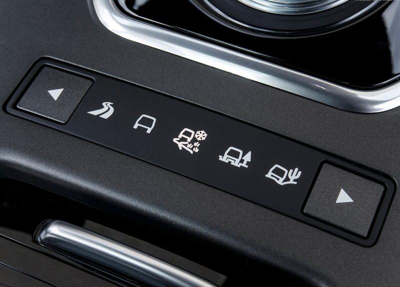 Range Rover Evopue雖定位在都會用途,但依舊承襲品牌知名的地形選擇功能