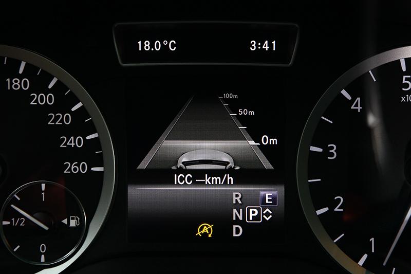 ICC全速域智慧巡航可隨前車速度自動增減速,同時動作相當線性自然不會讓乘客感到突兀。