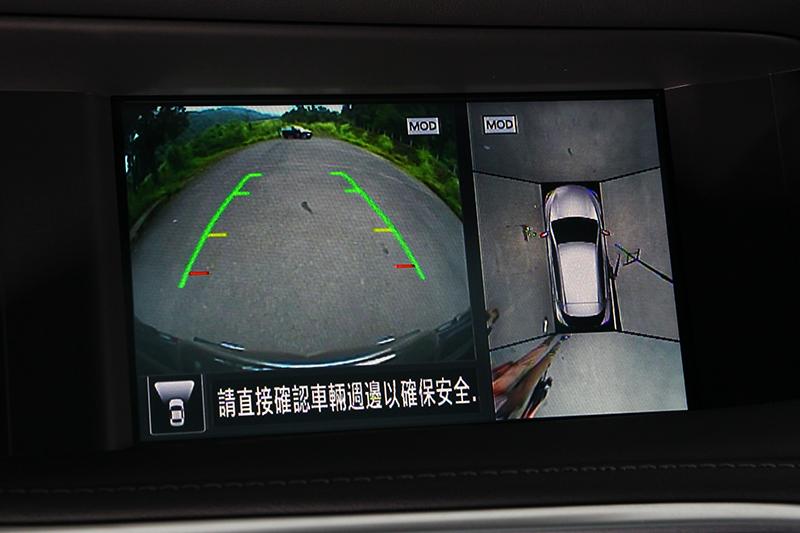 方便好用的AVM環景影像輔助堪稱Nissan-Infiniti的招牌配置。