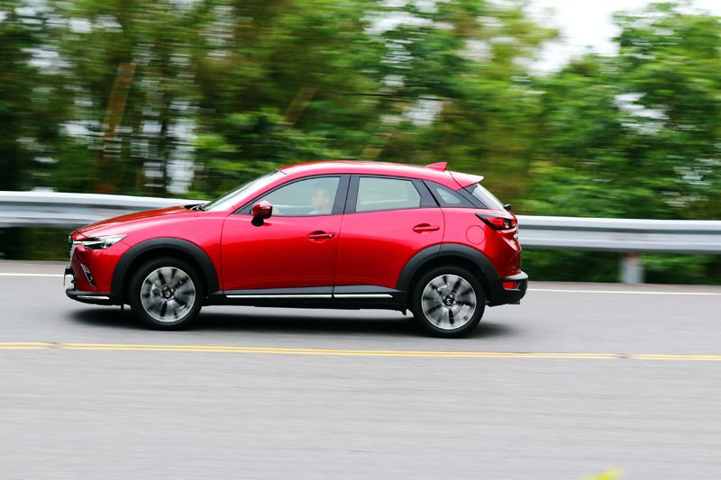 Mazda致力於操控性上精進,也是這回新CX-3的改變的重點。