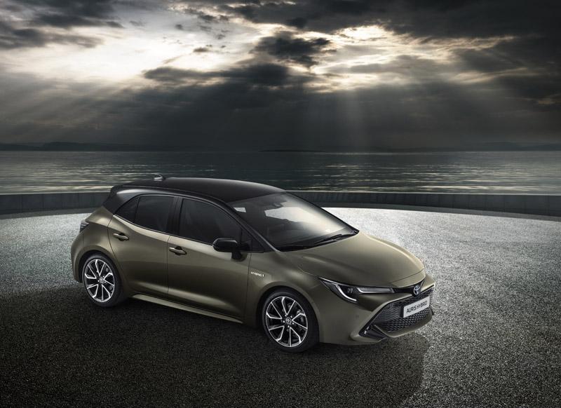 全新歐規Auris Hybrid。