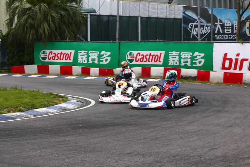 林岑翰〈50號車〉與劉蔚瑄〈95號車〉在第一階段預賽屢次出現攻防畫面。