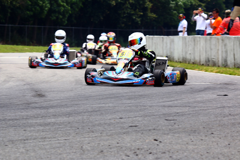 Super Nova 125中的簡凱徵〈56號車〉便是過去兩年於Yamaha SL卡丁車錦標賽中有亮眼表現,向上進階的車手。