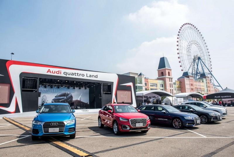 今年台灣奧迪更於母親節前夕舉辦「Audi quattro Land車主體驗樂園」首次官方車主聚會,號召全台四環車主偕同全家大小一同共襄盛舉。