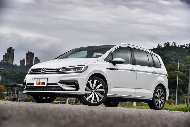 Touran是目前市場上車身尺碼與7人座機能最均衡車款
