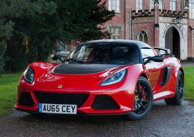 Lotus很帥又是手排沒錯,但售價不是一般大眾負擔的起的....