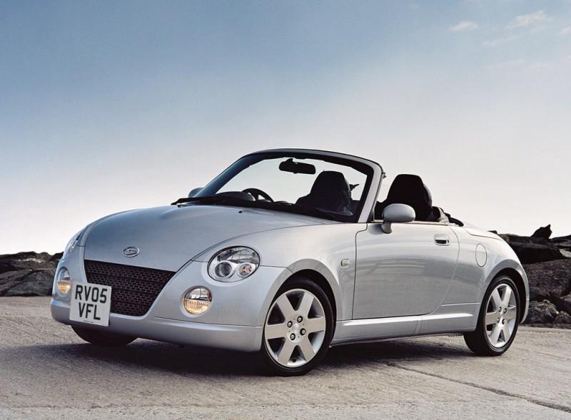 曾經引進國內的Daihatsu Copen堪稱是10多年前的平價小跑車代表