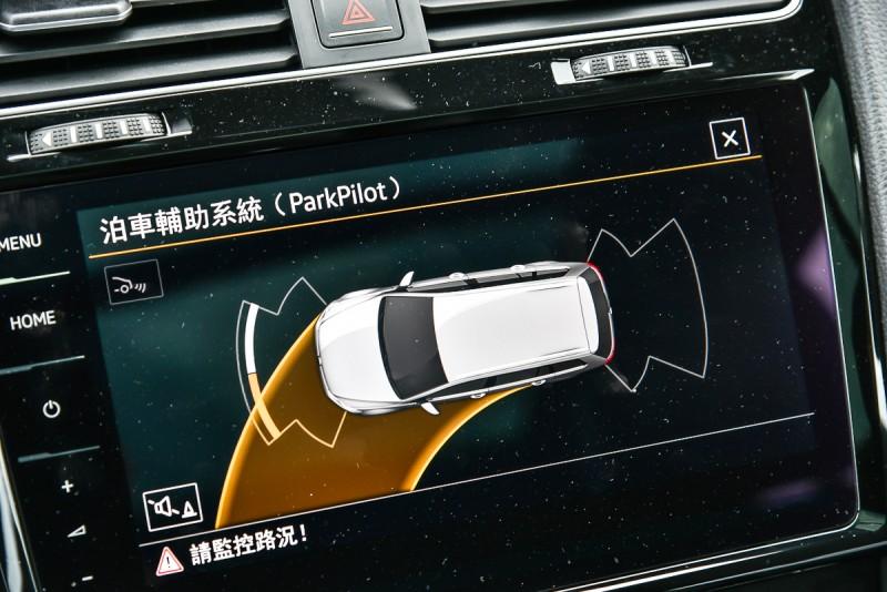 倒車雷達也能顯示路徑